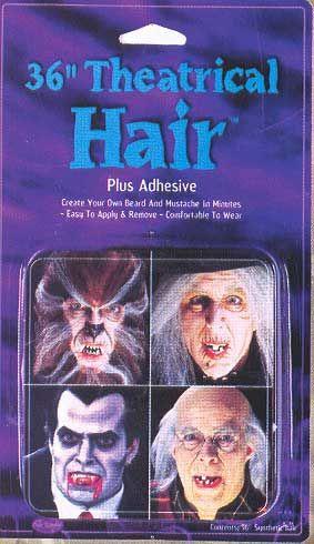 White Theater hair