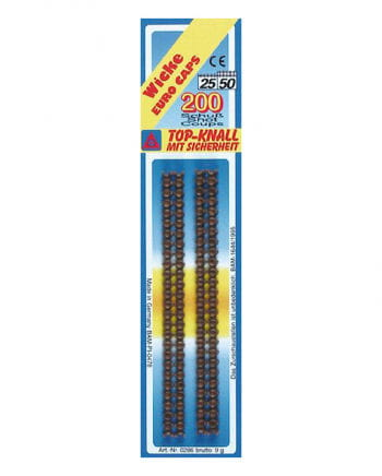 25/50 pistols Strip ammunition 200 rounds