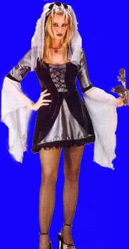 Sexy Wicked Bride Costume SM