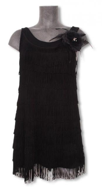 20er Jahre Kleid schwarz