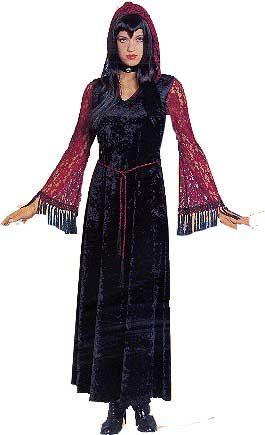 Mysterious Gothic Fee Kostüm