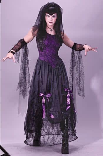Rockstar Zombie Widow Costume SM