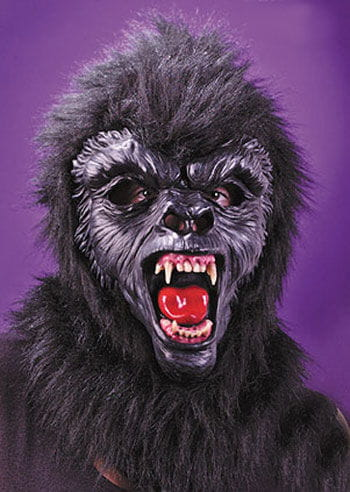 Gorilla Mask Black