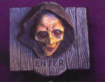 3D Grim Reaper Wanddekoration