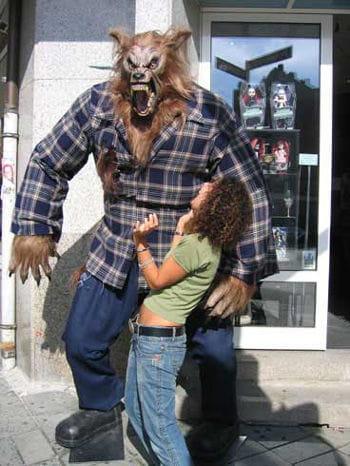 Giant Werewolf Aufstellfigur