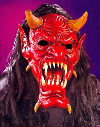 Devil Realistic Teeth Mask