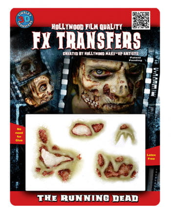 3D Tattoo putrid Zombie