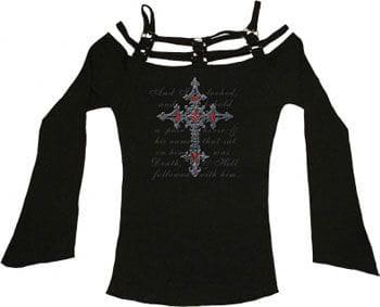 Death Cross Long Sleeve Size M