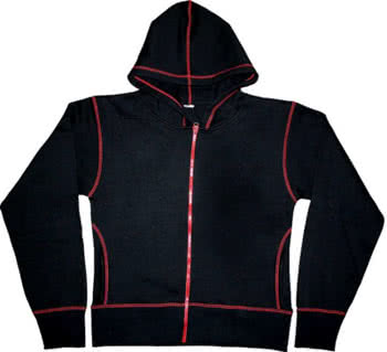 Black Hoody Size L