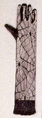 Lace Gloves in cobwebs look