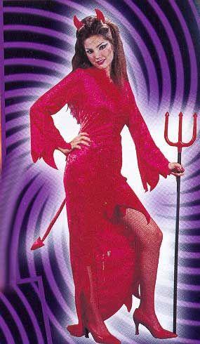 Teufelin Kostüm Gr. 36-38 S/M