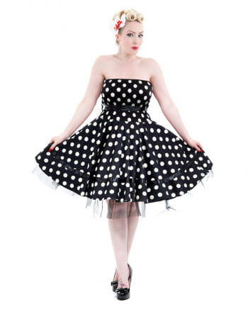50s Bandeau Dress