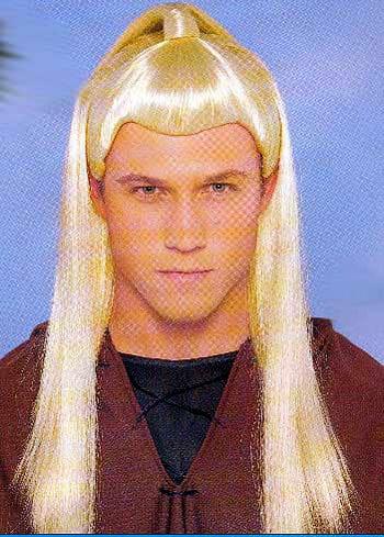 Warrior Perücke Blond
