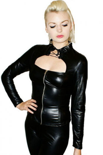 Fetish Blouse black