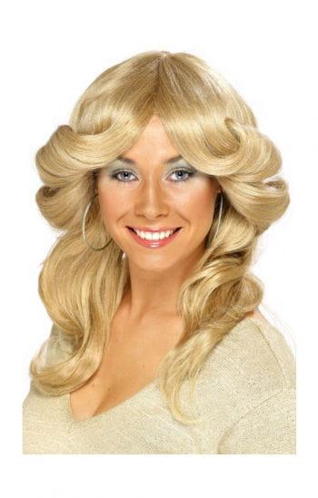 1970s Wig Blond