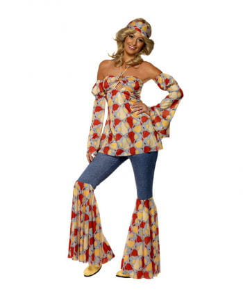 70er Vintage Hippie Girl Kostüm