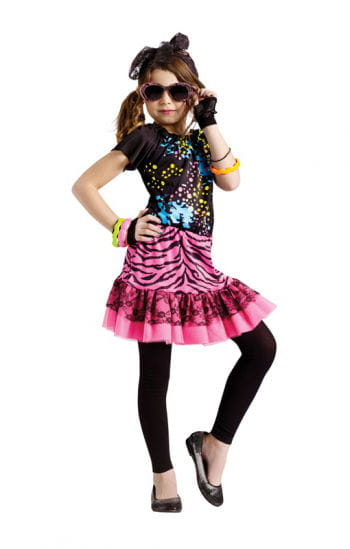 80`s Pop Girl Child Costume