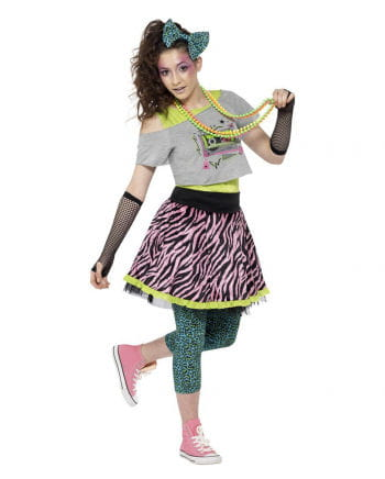 80s Wild Child Costume for Women Set