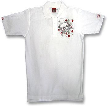 Argyll Diamond and Skull Polo Shirt L