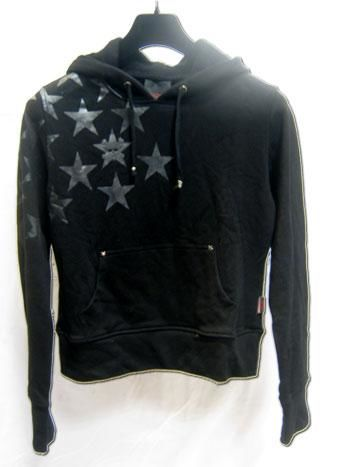 Hoody with Stars Size S