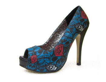 Iron Fist Muerte Punk High Heels 36