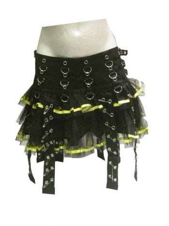 Punk Mini Skirt Size L