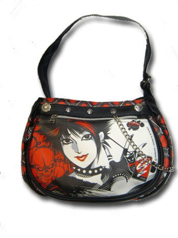 Shoulder Bag in manga style