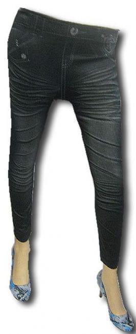 Leggins in Jeans Optik