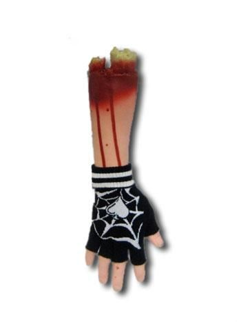 Fingerless Cobweb Gloves