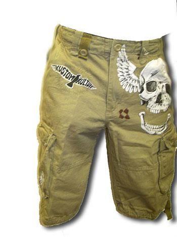 Skull Shorts SZ.36