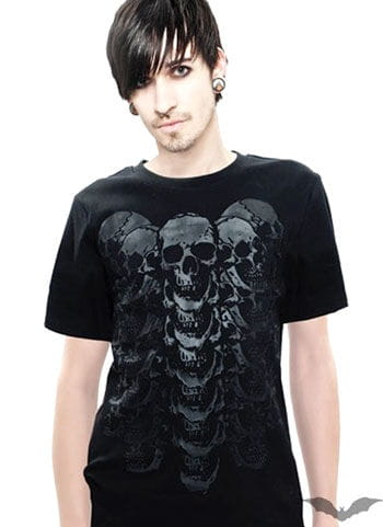 Totenkopf T Shirt Gr.M