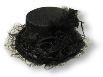 Gothic Hut schwarz