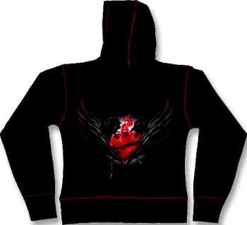 Sacred Heart Girly Hoody L