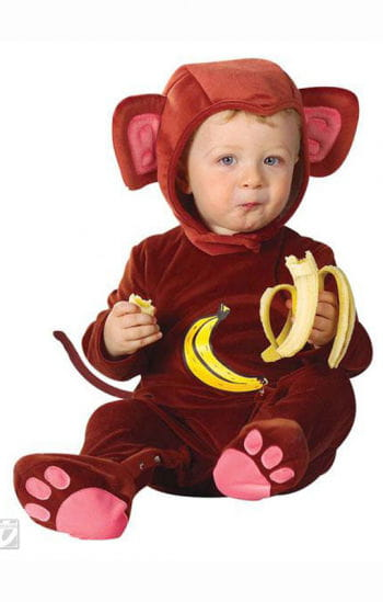 Infant Monkey Jumpsuit Costume