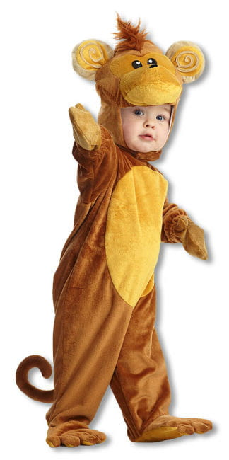 Monkey Child Costume S