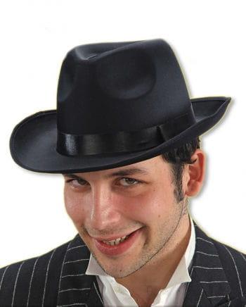 Schwarzer Al Capone Hut