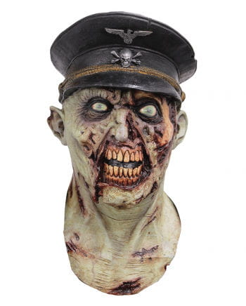 Zombie mask officer