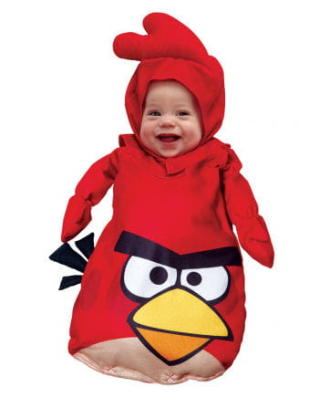 Angry Birds baby costume red
