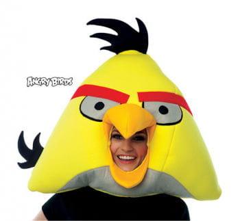 angry birds maske gelb angry birds gelber vogel vogel kost m horror. Black Bedroom Furniture Sets. Home Design Ideas