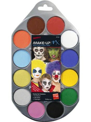 Aqua Make up FX Farb Palette