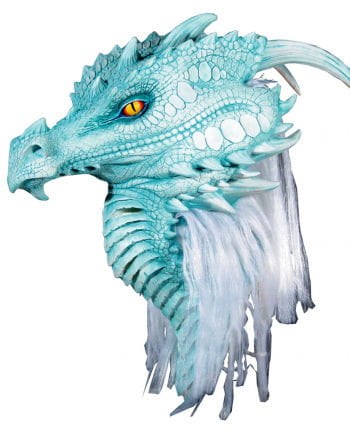 Arctic Blue dragon mask