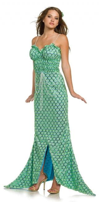 Meerjungfrau Premium Kostüm XL
