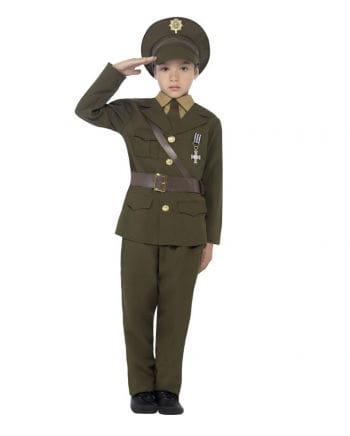 Army Officer Kinderverkleidung