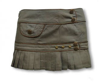 Army khaki skirt