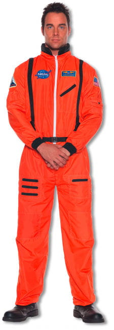 Astronaut jumpsuit orange