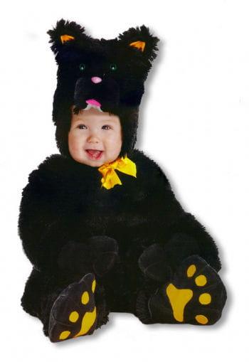 Kleine schwarze Katze Kinderkostüm Medium