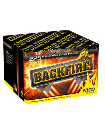Backfire Battery Fireworks 225 shot