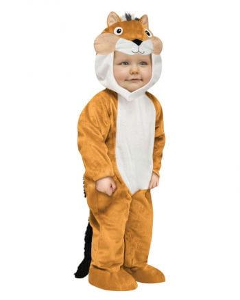 Kleines Backenhörnchen Kostüm