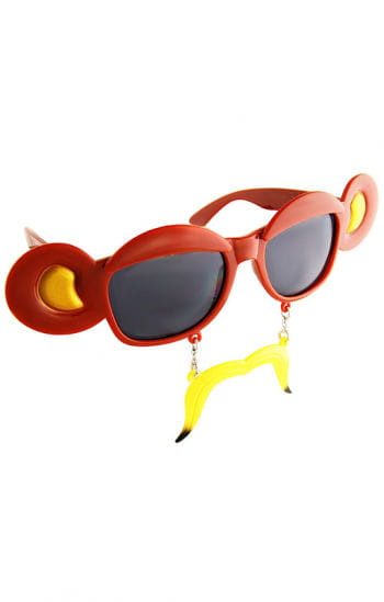 Bananas monkeys glasses