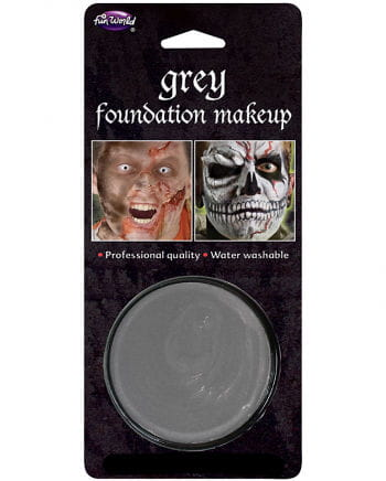Halloween makeup base gray